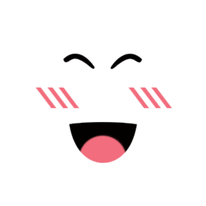 Super happy by. Roblox face png clipart transparent stock