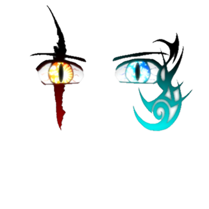 Fire and ice . Roblox face png svg library stock
