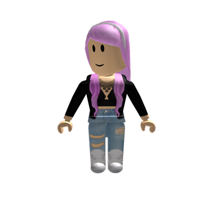 Roblox girl png. Cotton candy