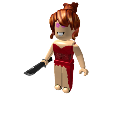Roblox girl png. Red dress