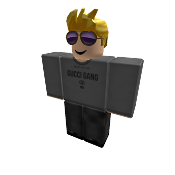 Roblox gucci goggles png. Profile blond spiked hair