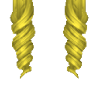 Roblox hair png. Curly blonde