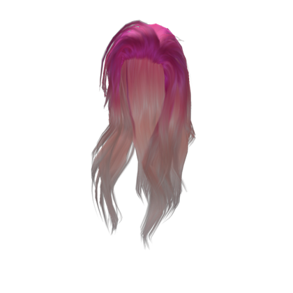 Roblox hair png. Pretty long pink girl