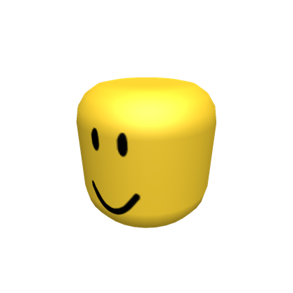 Roblox head png. Following oof