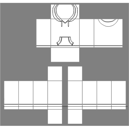 Hoodie transparent roblox. Template