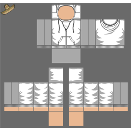 Roblox hoodie png. Transparent texture