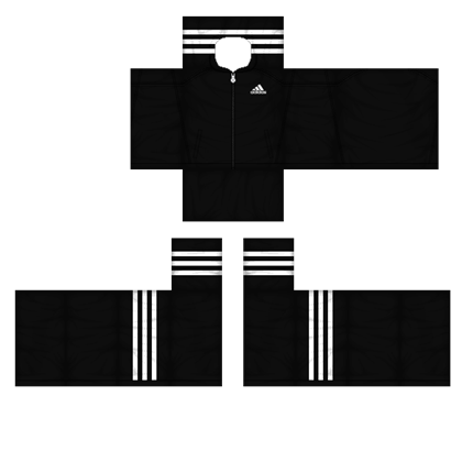 Roblox jacket png. Black adidas tracker