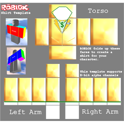 Roblox jacket png. Golden bling