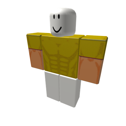 With gold new tshirt. Roblox muscle t shirt png banner freeuse download