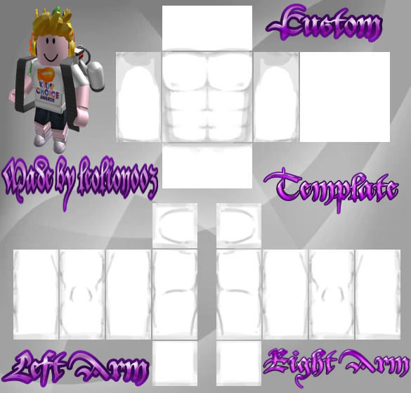 Roblox muscle t shirt template png. By leolion on deviantart