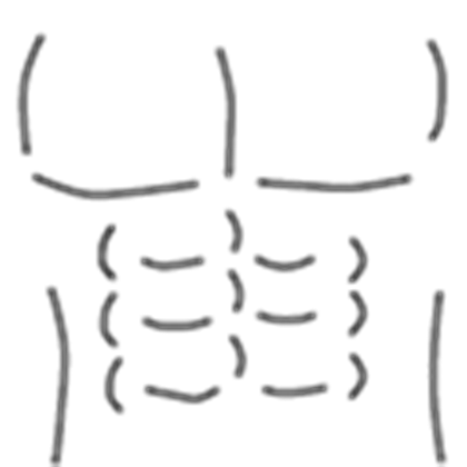 Roblox muscle t shirt template png. Muscles packs crloma
