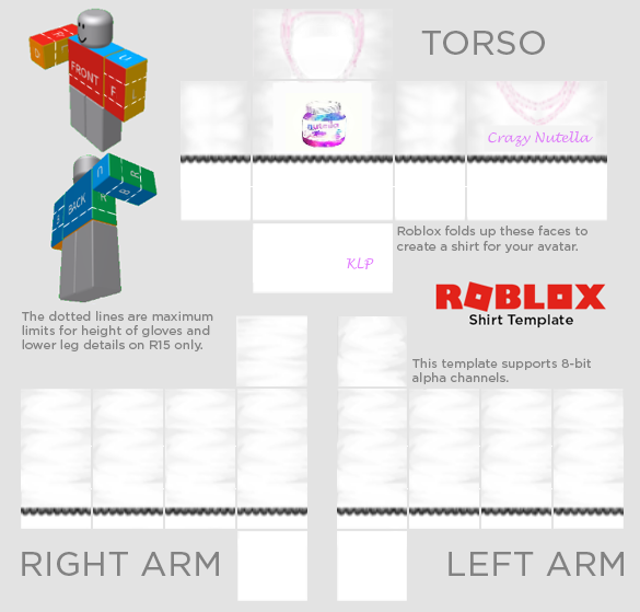Roblox shirt template png. Templates twitter robloxclothing crazynutellaytpictwittercomsvpvey