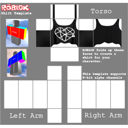 Roblox shirt template png.