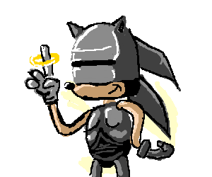 Robocop drawing. Sonic as by quakis