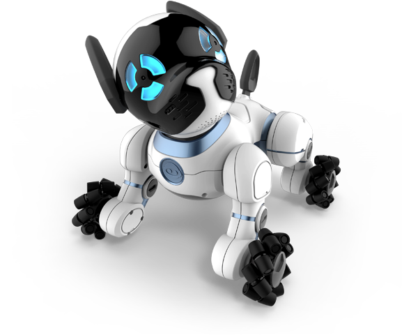 Robot dog png. Chip the smart and