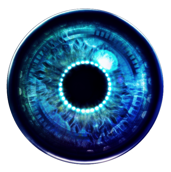 Robot eye png. Sticker by eyes official