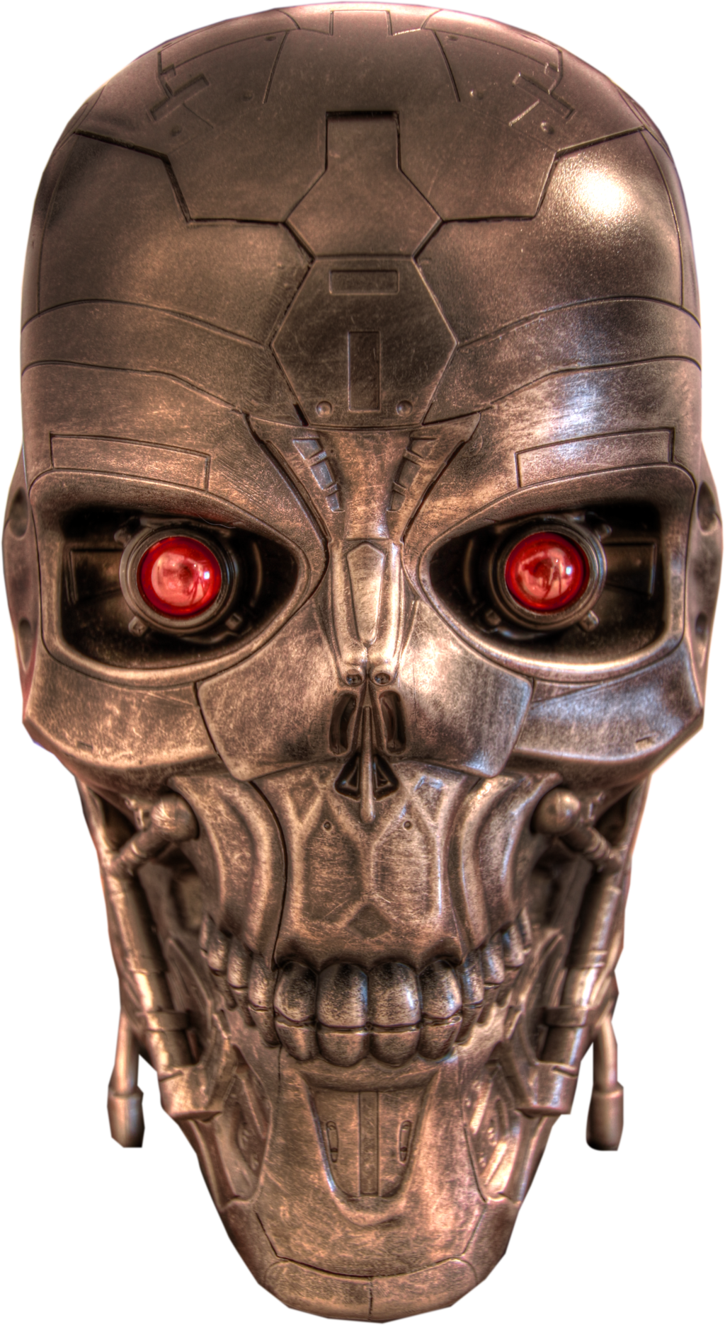 Robot face png. Terminator images head