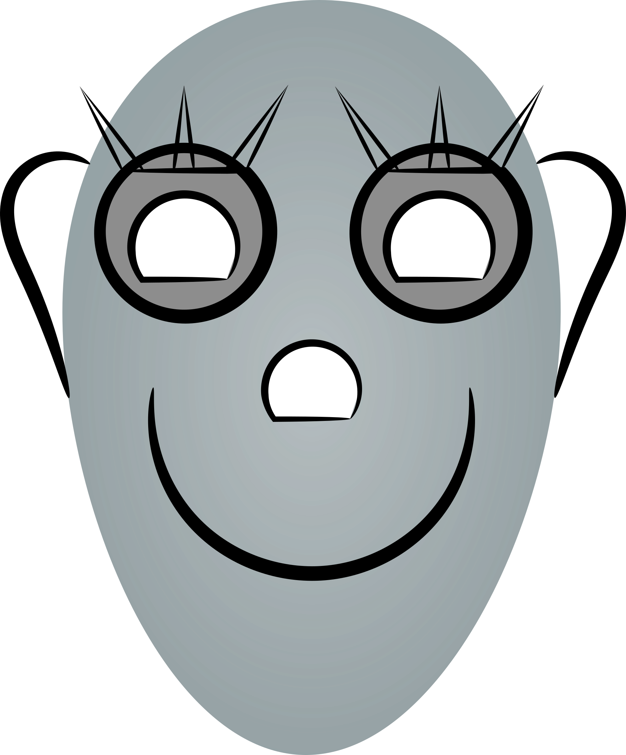 Robot face png. Female robots icons free