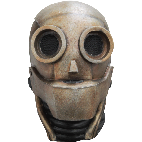 Robot face png. Full mask cappel s