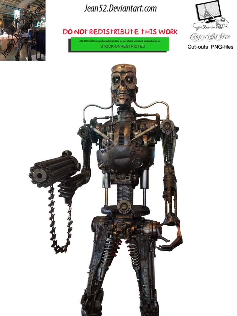 Old robot png. By jean on deviantart