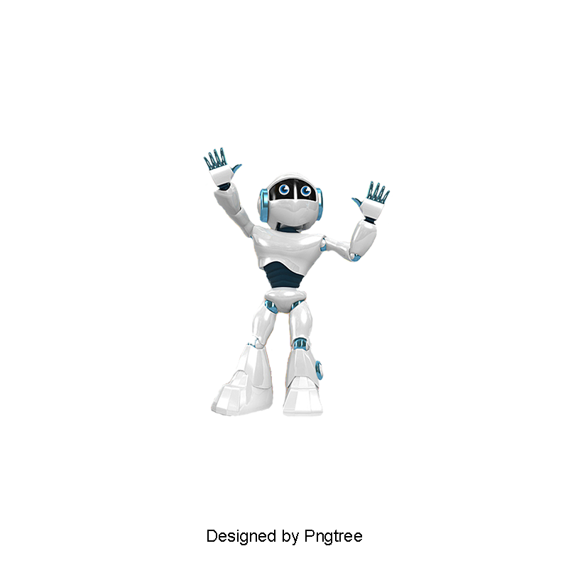 Vector robots artificial intelligence. Robot png and for