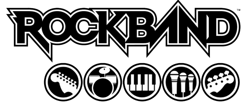 Rock band 4 logo png. Transparent mart
