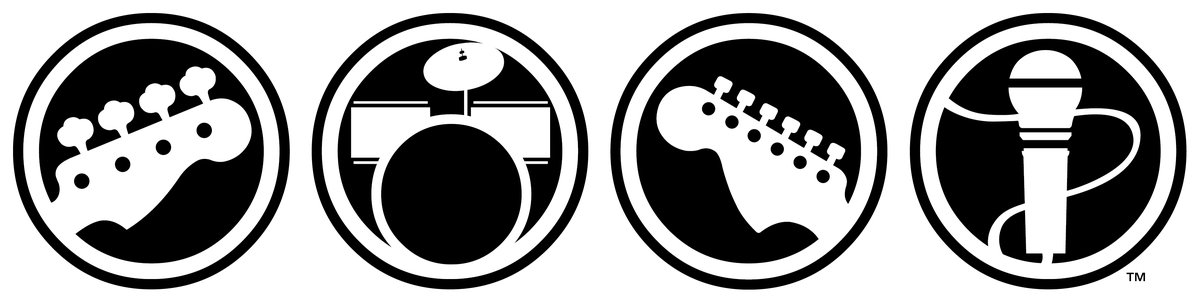 Rock band 4 logo png. Hands on with s