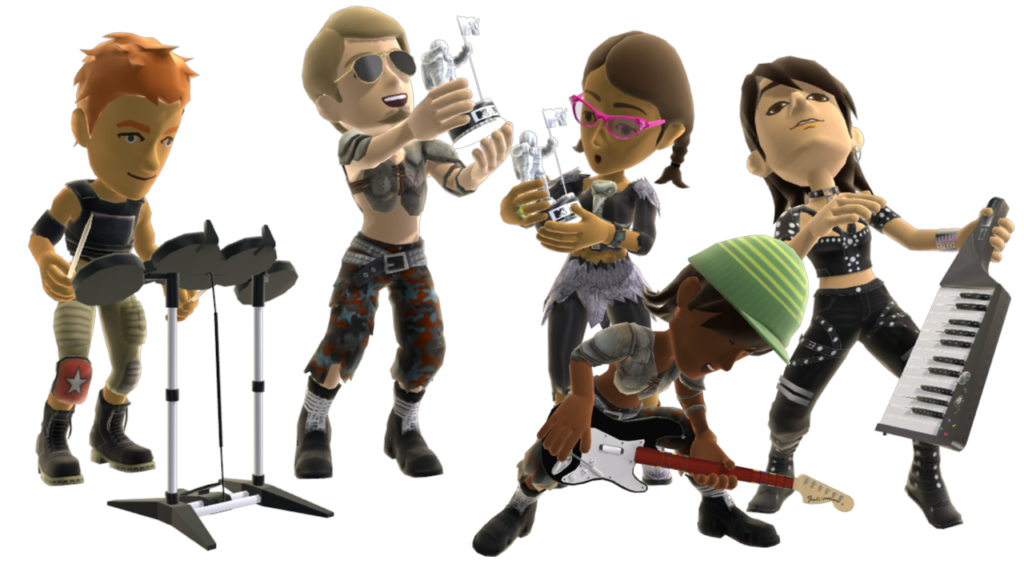 Rock band png. Pic peoplepng com