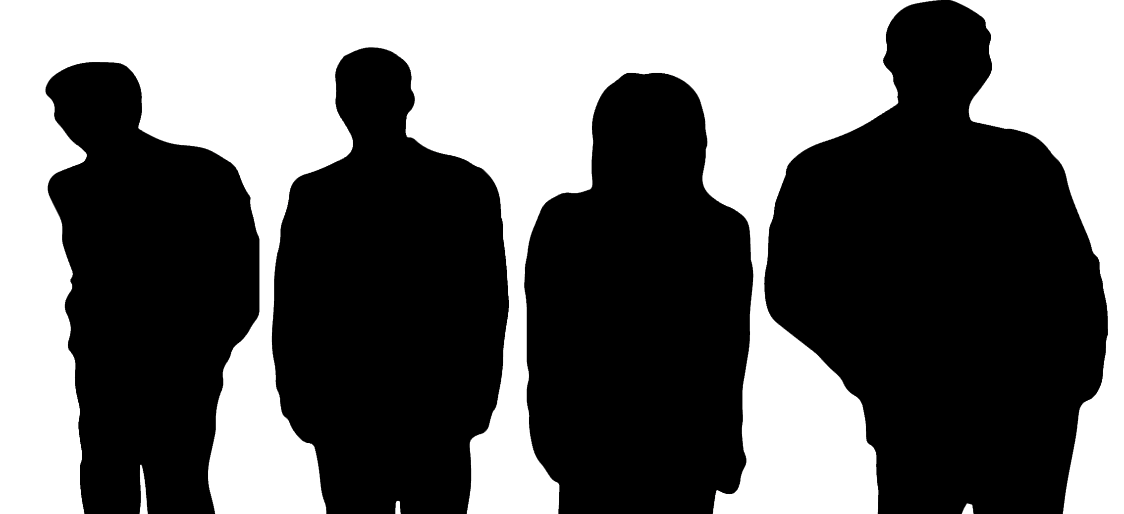 Rock band silhouette png. Get to know us
