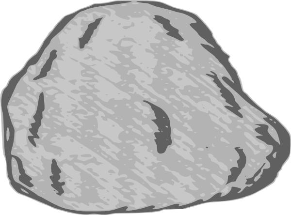 Rock clipart. Large