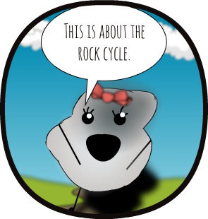 Rock clipart metamorphic rock. Gm the cycle pages