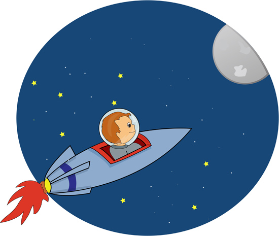 space clipart space research