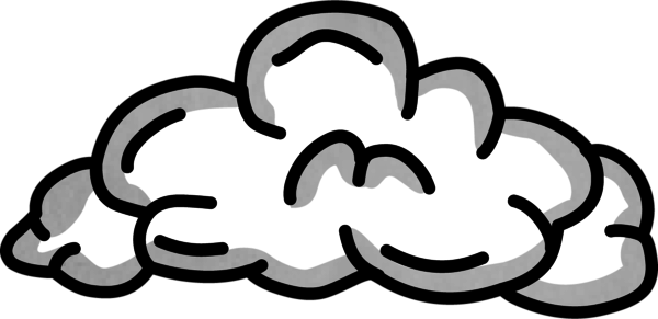 smoke clipart rocket