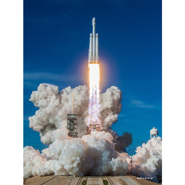 Rocket launch smoke png. Spacex fh poster pack