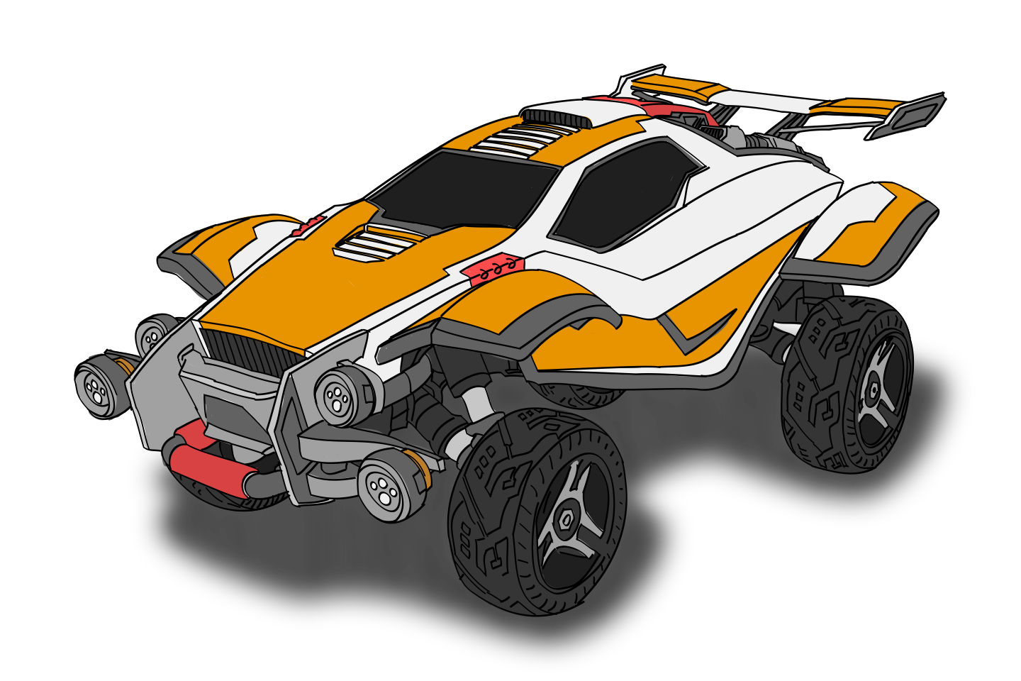 Rocket league octane png. I wanted to try