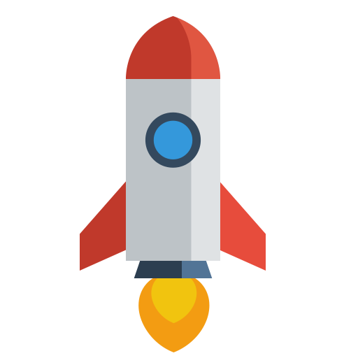 Rocket png icon. Whsr january flaticon set