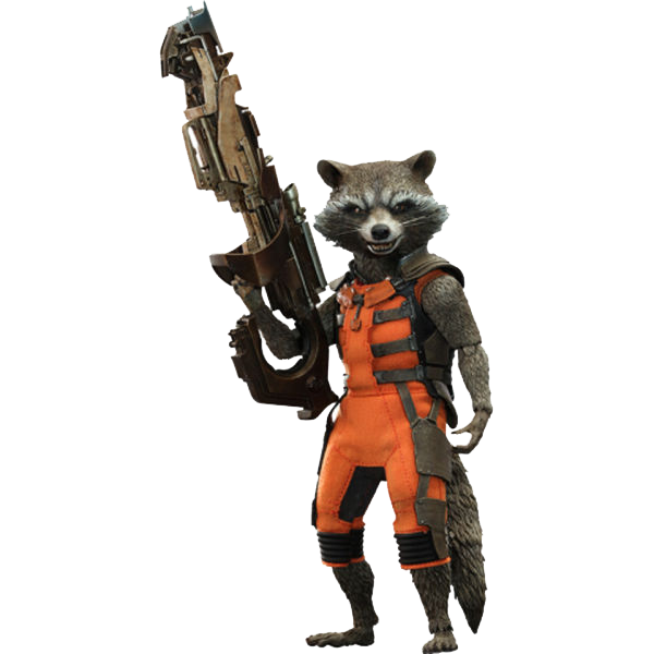 Rocket raccoon png. Photos mart