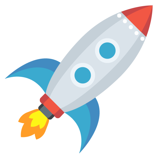 Rocket png. List of emoji one
