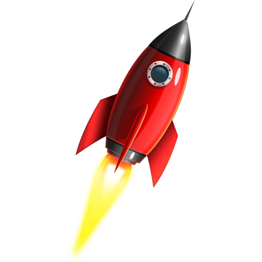 Rocket vector png. Free space icon psd