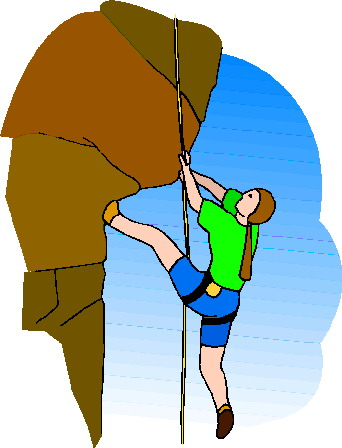 climber clipart adventurous