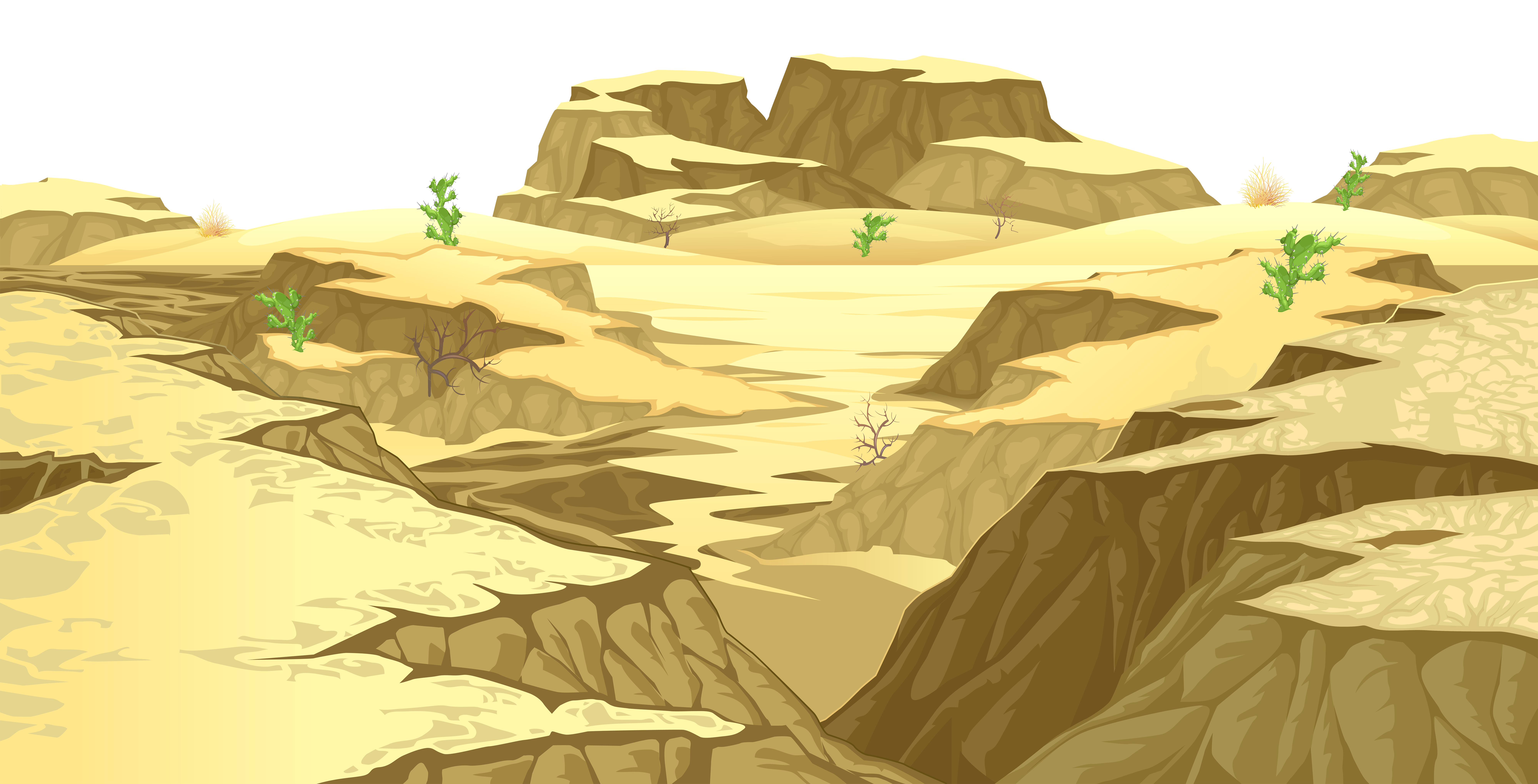 Rocks clipart ground. Desert cover transparent png
