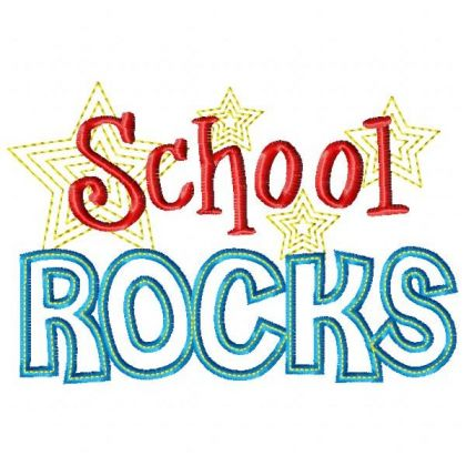 Rocks clipart school.