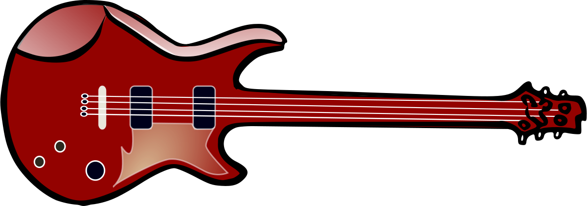 Rockstar clipart bass guitar. Free pictures of download