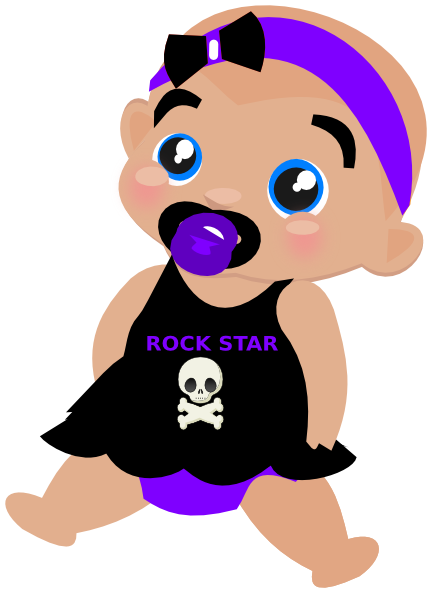rockstar clipart pet rock
