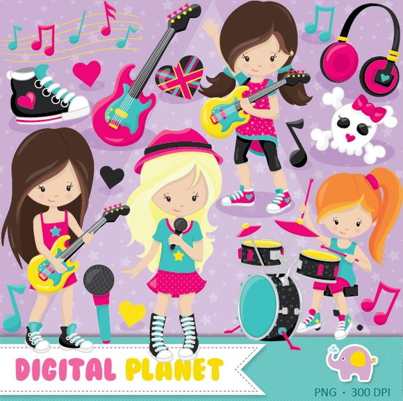 Rockstar clipart library rock. Best music images