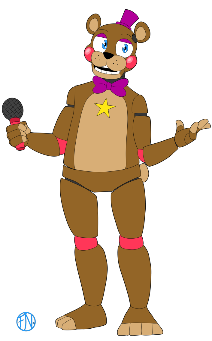 Rockstar drawing boy. Freddy by fnafnations fnaf