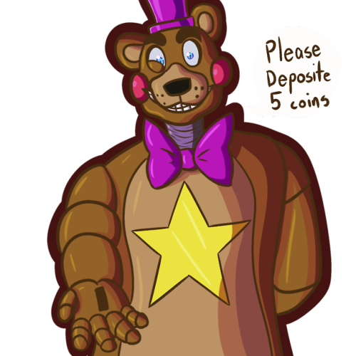 Rockstar drawing freddy. Animatronics tumblr bonniechicafoxyfreddyucnfnaf voice