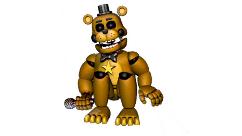 Rockstar drawing freddy. Golden by jhh on