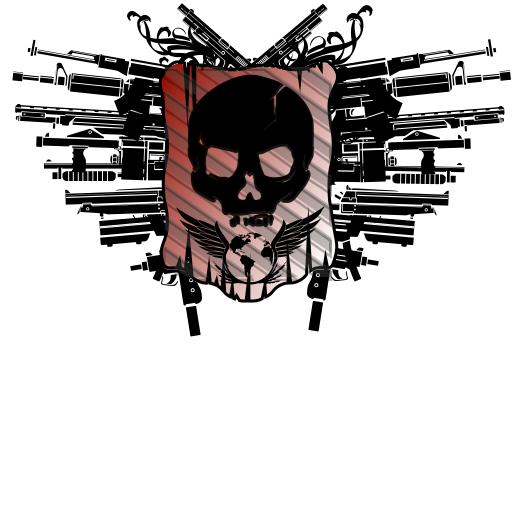 Rockstar drawing skull. Games social club crew