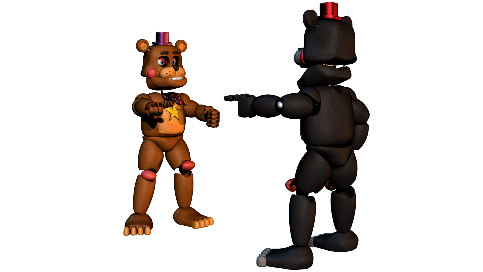 Rockstar drawing freddy. And lefty encounter each